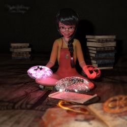 Magic-Light-Props-Fantasy by Mysticartdesign