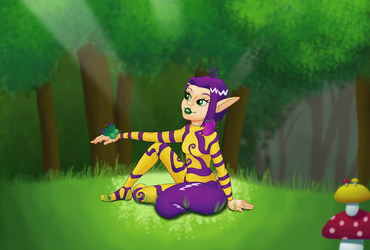 Request: ClaireAimee - Ly in the Grove by TheDuckofIndeed