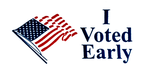 I Voted Early - Inkstamp Effect by KickAir8P