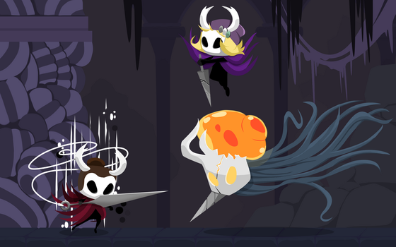 Hollow Knight - Commission 3 by Nexaam