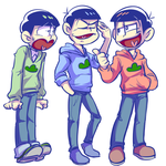 Osomatsu-san - older brothers by cooga01