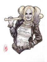 Harley Quinn Conventions Sketch by redgvicente