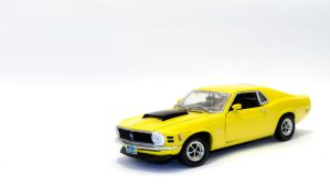 Ford Mustang 1970 Boss 429 1:18 by abomontage