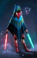 Rebel Jedi by milkmindart