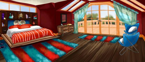 Chris Room by Animated123