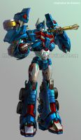 TFP 3 Ultra magnus by GoddessMechanic