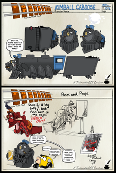 Technicolor OCT - Kimball Caboose Sheet by Fanriffic