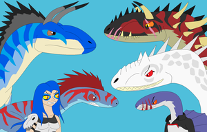 Saurian Warriors - Making A Stand by EliteRaptor2015