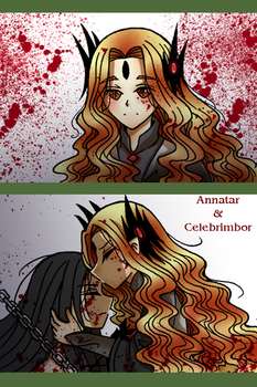 Annatar and Celebrimbor - the last goodbye by Windrelyn