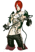 His tattoos took forever by MadiBlitz