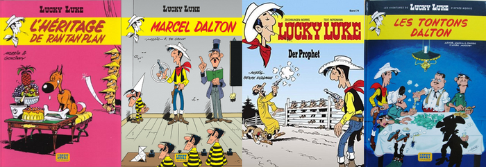 Lucky Luke Books to Be by CCB-18