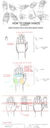 How to draw hands - Video tutorial by boybogart