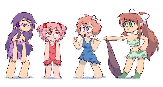 Doki Doki Club Club by JumpinJammies
