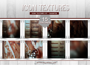 Icon Textures 07 - Haunted by nk-ash