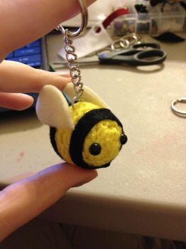 New Bee key chain by PhileasFogghorn