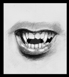 Vampire grin by Alicecab