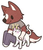 Will and Yuki Sticker by partybug98