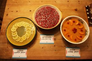 Fruity vodka jellies by Itti