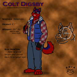 Colt 'Smokey' Digsby Reference by ConnerCoon