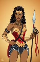 Nubia (Earth-27) commission by phil-cho