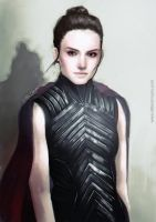 Star Wars: Dark Rey by LittleChmura