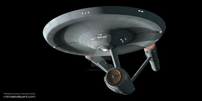 TOS Enterprise by trekmodeler