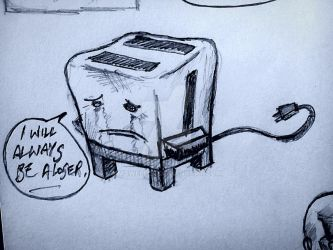 sad little toaster... by Mdweller