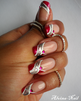 Concours girly by alvina-nail