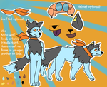Vibe reference sheet by BraveHeartedw0lf