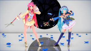 {730 Watchers Gift} TDA Arls Luka and Helmold Miku by HarukaSakurai