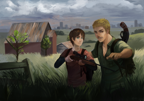 Eren AU - The Last Of US by lypotatoes