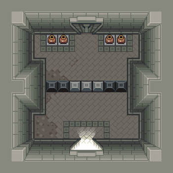 Dungeon Room by Goodlyay