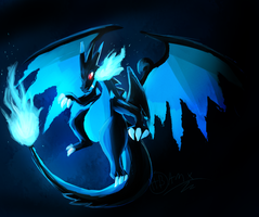 mega Charizard Xy fusion!! by TakeoTheSavage