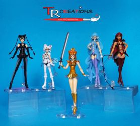 Sailor Moon S.H. Figuarts Shadow Galactica Update by zelu1984