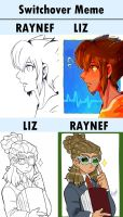 Inazuma eleven switchover meme by Raynef