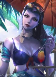 Widowmaker - Summer skin, Timelapse video included by DoubiDoubi