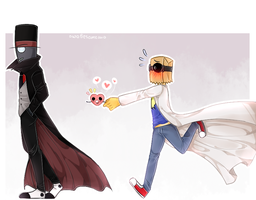 [Villainous] In A Heartbeat PaperHat's version by owoSesameowo