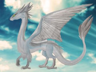 Zephyro, Dragon of Wind by LadyAnaconda