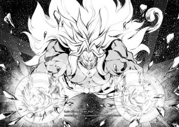 Pyke Broly Commission by marvelmania