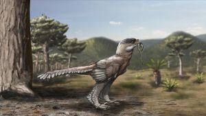 Archaeopteryx lithographica by Qbliviens