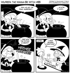 Wilfreda the Wanna-Be Witch e35 by megawackymax