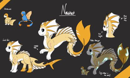 -PC- Naunet ref by Acrylic-blood