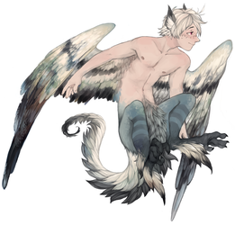 monster boy commission by sickingstar