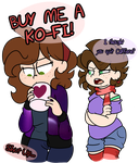 BUY ME A KO-FI by BefishProductions