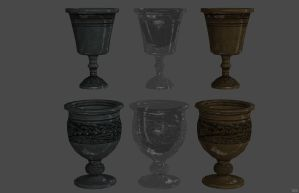 'Skyrim' Goblets XPS ONLY!!! by lezisell