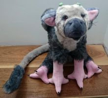The Last Guardian - Trico plush by harmonixer101