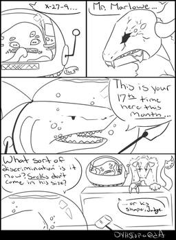 30 Days- Day 19: Comic Strip by dyhstopia