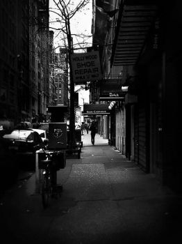 Alone in the City by paparoksguitar