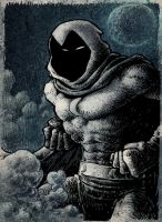 moon knight by laseraw