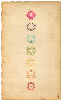 Photoshop Brush: Chakras by cwylie0